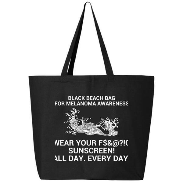 Picture of Melanoma Awareness Beach Bag
