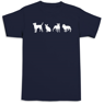 Picture of Wisconsin Humane Society Navy T-Shirt