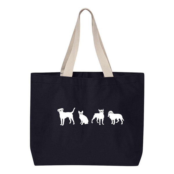 Picture of Wisconsin Humane Society Navy Tote Bag